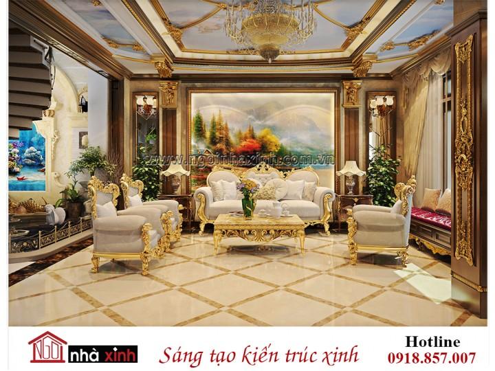 Thiết kế nội thất đẹp cổ điển bắt kịp với thời đại mới