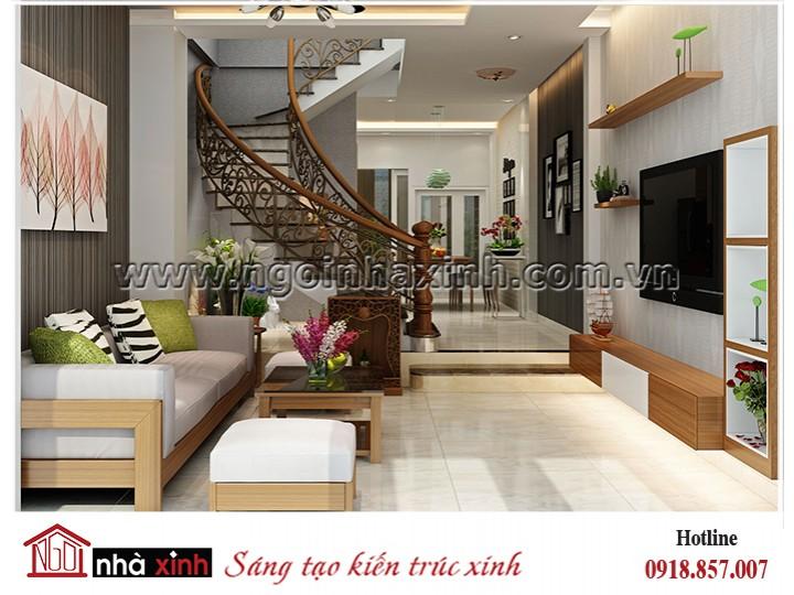 nội thất đẹp mang phong cách hiện đại nhà anh Sỹ ở Gò Vấp TP HCM thiết kế Nhà Xinh