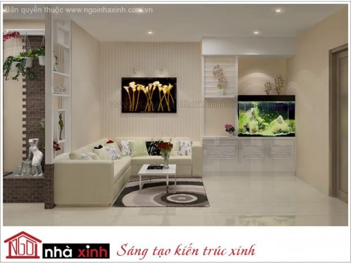 Thiết Kế Nội Thất Đẹp |  Hiện Đại |  Cô Thu Trang- TP.HCM  |  NT. NNX133