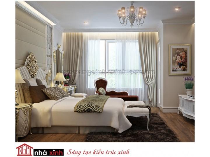 Thiết Kế Nội Thất Phòng Ngủ Hiện Đại | NT. NNX143