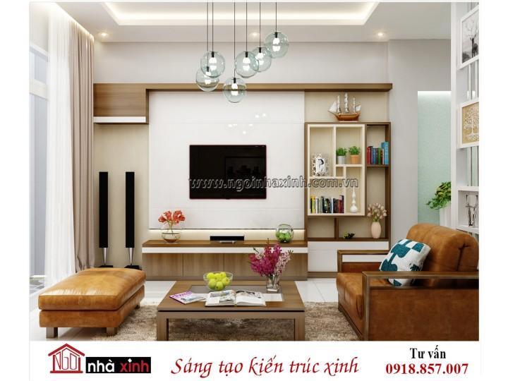 Thiết kế nội thất đẹp NHÀ XINH | Hiện Đại | Chị Hà | NNX - NT712