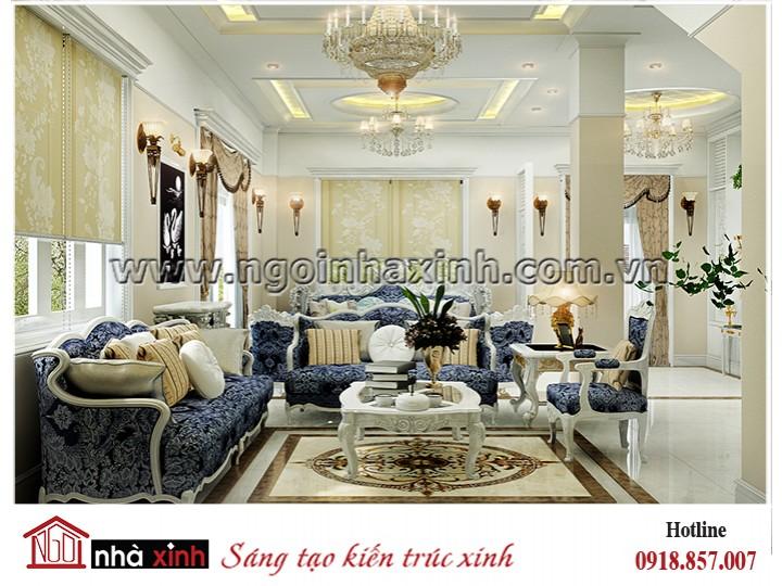 Mẫu thiết kế nội thất NHÀ XINH | Tân Cổ Điển | Lâm Huê | NNX – NT702