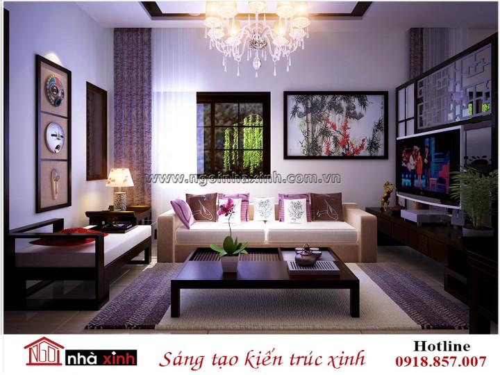 Thiết kế nội thất phòng khách đẹp | Hiện Đại | Anh Nam - Ecopak | NT. NNX 185
