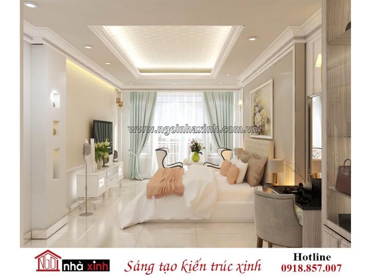 Mẫu Nhà Đẹp | Nội Thất Phòng Ngủ Master | Hiện Đại | Chị Xuân - Phú Nhuận