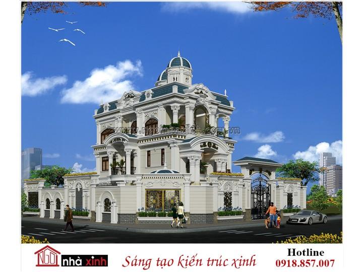 Tổng Hợp Những Mẫu Biệt Thự Cổ Điển Đẹp Sang Trọng Đi Cùng Năm Tháng | Nhà Xinh