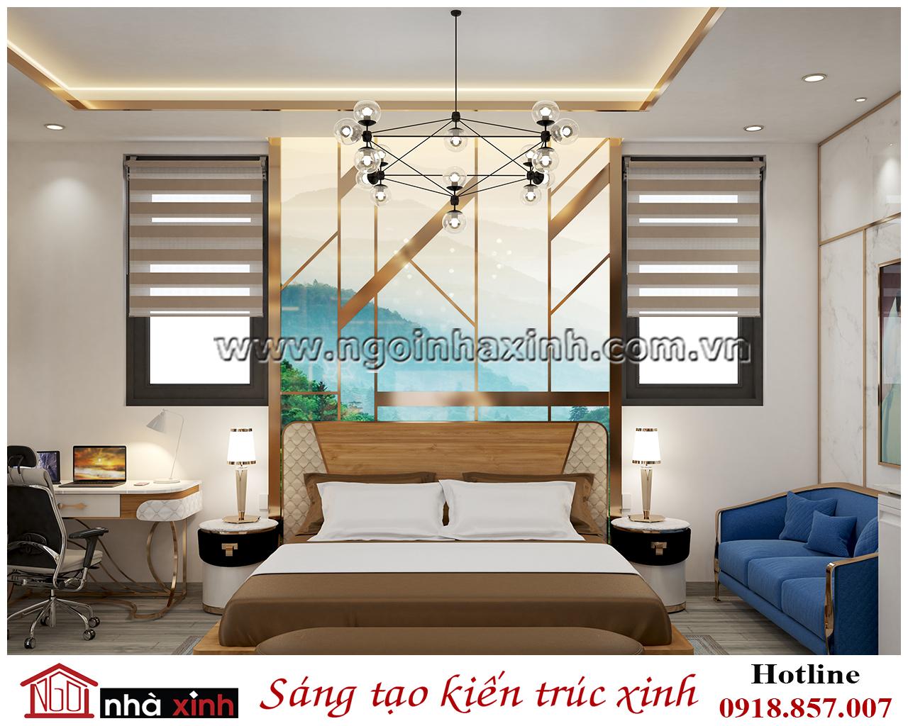 Thiết kế nội thất phòng ngủ master đẹp, noi that dep, nhà xinh, nha xinh, nội thất đẹp, ngôi nhà xinh, nội thất ngôi nhà xinh
