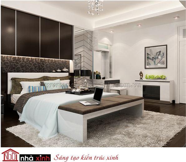 nội thất phòng ngủ đẹp, phòng ngủ master đẹp, nha xinh, nha xinh hcm, ngoi nha xinh