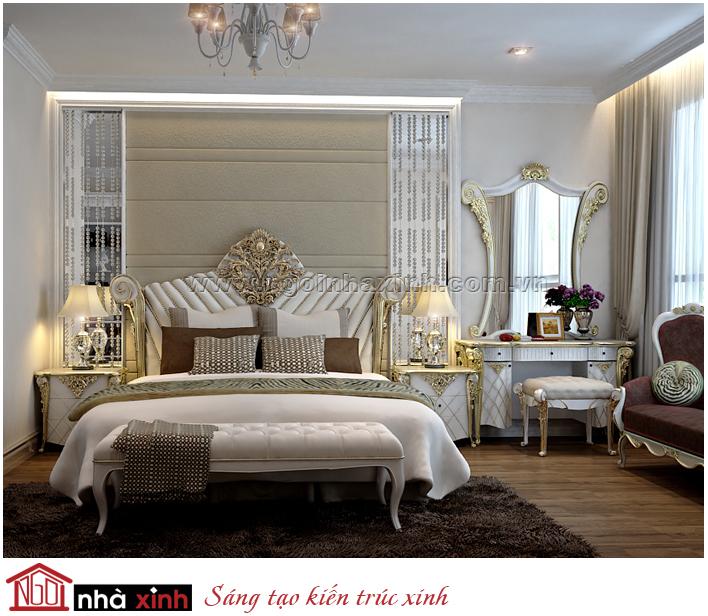 phòng ngủ đẹp, nội thất nhà xinh