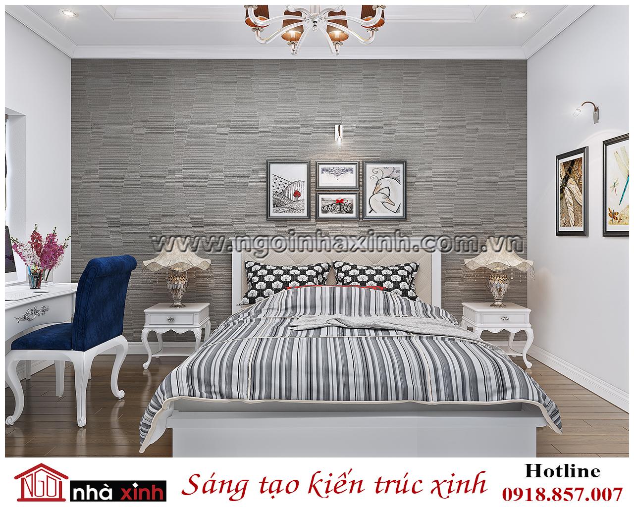 phòng ngủ đẹp do nhà xinh thiết kế