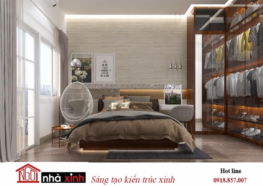 thiết kế phòng ngủ master sang trọng, nhà xinh, nhà xinh hcm, nội thất đẹp, mẫu nội thất phòng ngủ đẹp, ngôi nhà xinh