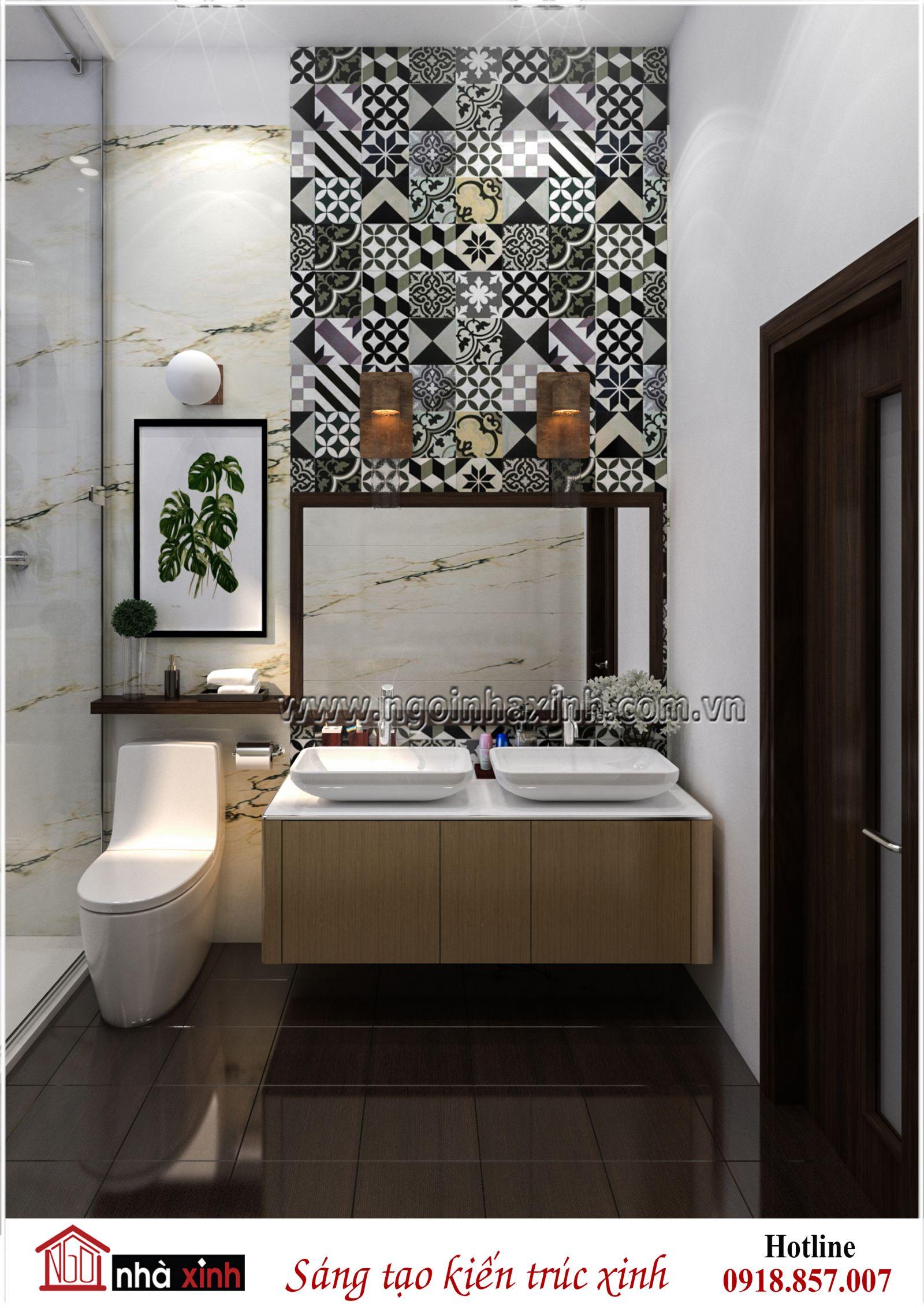 nội thất WC đẹp, nội thất nhà xinh