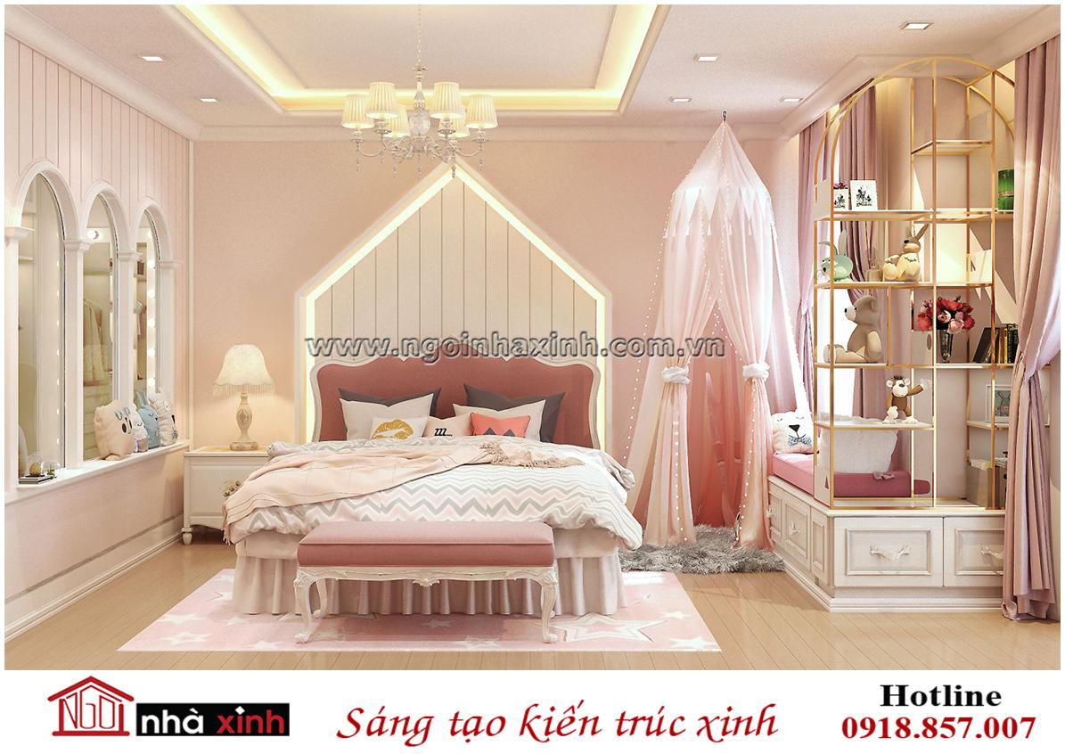 nhà xinh, nha xinh, nội thất đẹp, phòng ngủ con gái đẹp